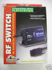 Playstation / PS1 RF Switch  Namco Guncon Compat. NEW