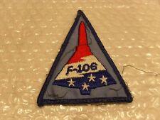 NAM ERA 84TH FIGHTER INTERCEPTOR SQDN FIS PATCH F-106 EMB ON TWILL