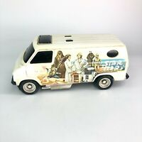 Star Wars SSP White Van - Kenner General Mills - No Rip Cord - Vintage 1977