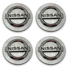 Set Nissan Altima Maxima Murano 350 MACHINED FIN Center Cap Hubcap FREE SHIPPING