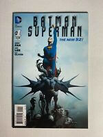 Batman/Superman #1 DC 2013 Jae Lee Cover