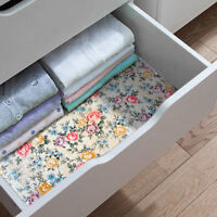 Floral Self Adhesive Contact Paper Shelf Drawer Liner Anti-slip Wallpaper Gift