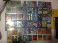 Pokemon cards mega ex full art bundle lot 25 1st sun fossil base jungle promo GX