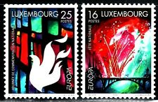 SELLOS TEMA EUROPA 1998 LUXEMBURGO 1401/02  2v.
