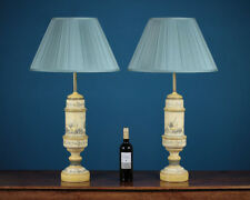 Pair of Ceramic Toleware Style Table Lamps c.1960.