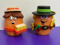 Happy Meal McDonalds Vintage 1988 Set of 2 Full Outfits Crocodile Dundee Movie