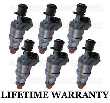 Genuine Bosch Set Of 6 Fuel Injectors Mercedes C280 C36 S320 SL320 E320 C220