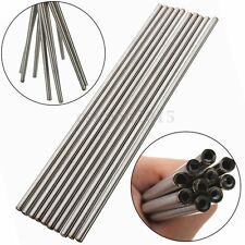 2Pcs OD 5mm x 3mm ID Length 250mm Stainless Seamless Steel Capillary Tube Tubing