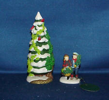 Dept 56 Heritage Village The Holly And The Ivy 1997 Set Of 2 #56100 W/ Box