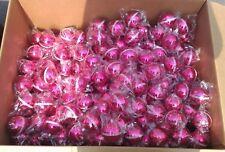 LOT 10 BOULES DE NOEL ROSE PINK LADY NEUVES