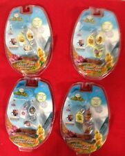 4 Disney Pixie Hollow Clickables Fairy Silvermist Iridessa Fawn Clarion Charms