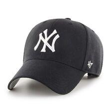 New York Yankees Hat MLB Baseball MVP Adjustable Black 47 Brand Cap New W/ Tags