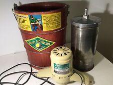 Vintage White Mountain Electric Ice Cream Freezer