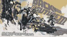 Matt Taylor Back to the Future III Variant Poster Screen Print  Mondo Ed 175