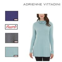 NEW! Adrienne Vittadini Women Cowl Neck Tunic Color & Size Variety NWT VARIETY