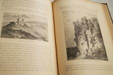 L'ALSACE LE PAYS SES HABITANTS GRAD 1913 RELIURE 191 GRAVURES