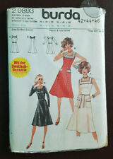 Burda-2 0893 Dress Sewing Pattern Plus-Size 16-18-20 Uncut
