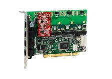 OpenVox A400P01 A400P 4 Port Analog PCI card + 0 FXS + 1 FXO