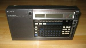 Sony Model ICF-2010 Portable Shortwave Radio Receiver Air/FM/LW/MW/SW