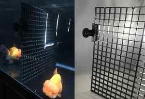 Aquarium Fish Tank Separator Divider Screen Net Crate Separate Fry Suction Cups