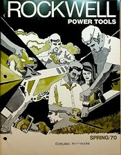 Rockwell Power Tools Spring 1970 Catalog Drills Saws Lathes Planes Sanders