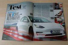 Auto Bild 26196) Tesla Model 3 mit 261PS im TEST auf 4 Seiten