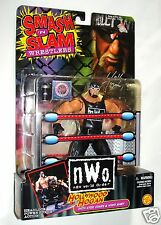 "6""  Toy Biz WCW NWO SMASH N SLAM Hollywood Hulk Hogan Wrestling Wrestler Figure"