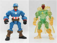 Super Hero Mashers Captain America & Translucent Vision 6inch ACTION FIGURES