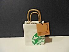 Starbucks Shopping Bag Ornament - Gift Card Holder - 2018 Holiday Collection