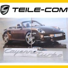 "NEU+ORIG. Porsche Cayenne 955 ""Cayenne Turbo"" Schriftzug/Logo/Emblem /Heckklappe"