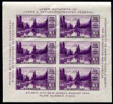 USA 1934 BLOCK5 ** POSTFRISCH TADELLOS 40€(49908