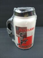 1999 Cleveland Browns Thermal Mug HUGE 44 Ounce NEW SEALED AutoKing Official NFL