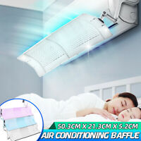 Air Conditioner Deflector Anti Direct Baffle Wind Telescopic Windshield Home -