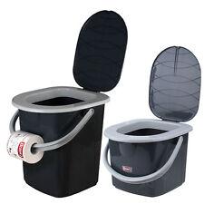 Toiletteneimer BranQ 2 Volumen zur Wahl 15,5L 22L Campingtoilette Reisetoilette