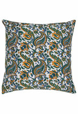 Art Deco Paisley 100% Cotton Decorative Cushions & Pillows