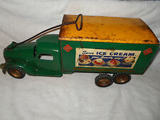 1940's Buddy L Pressed Steel Railway Express Agency American Dairy Assoc Truck