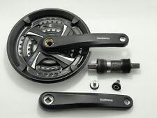 Shimano Kurbelgarnitur FC-TX 801 7/8 fach 48/38/28 170 mm sw + Innenlager UN26