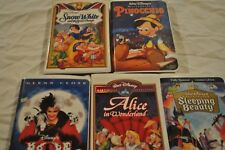 Classic Disney VHS Tapes