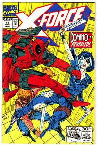 X-FORCE #11 - 1991 Marvel (vf-) Deadpool  (A)