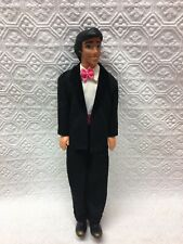 "Disney Mattel Little Mermaid Prince Eric Doll Vintage Redressed in a Tuxedo 12"""