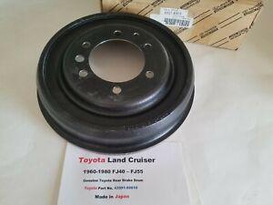 Toyota Land Cruiser FJ40 & FJ55 60-80 (Genuine Toyota) Rear Brake Drum  - frt-75