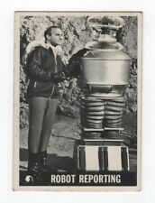 Lost In Space Trading Card #28, 'Robot Reporting',  Vintage 1966 Topps Card