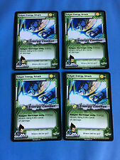 X4 DRAGON BALL Z CARDS SAIYAN ENERGY ATTACK TCG DBZ TRADING CARDS FREE SHIPPING!