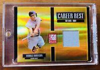 2005 Donruss Elite Career Best Jersey Brooks Robinson 05/50 CB-7 HOF Orioles MT