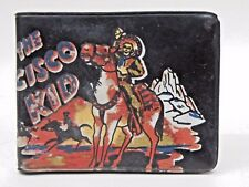 1950's THE CISCO KID vinyl WALLET Western Cowboy Hero