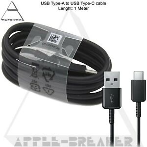 Original USB TYPE C Fast Charger Genuine Data Sync Cable for all Samsung Phones
