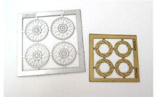 NINCO 80726 Set 4 cerchioni + 4 dischi freno in fotoincisione scala 1/32