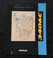 1991 GENUINE CATERPILLAR 3406C MECHANICAL DIESEL ENGINE SPECIFICATION BROCHURE