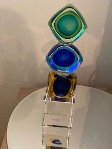 Centerpiece Multi Color Art Glass For Sale Ebay