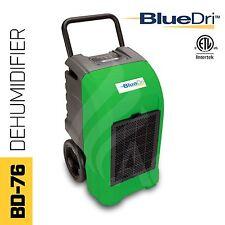 BlueDri® BD-76P ETL Certified Commercial Industrial Grade Dehumidifier Green